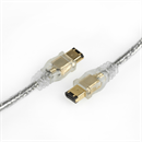 CF-66-050-HQ: Firewire cable 6-to-6 with 2 ferrite cores 5m