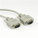 C1-09-02: Serial cable DB9 male to DB9 male, 2m, e.g. for RS232