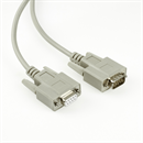 C2-09-10: Serial cable DB9 male to DB9 female, 10m, e.g. for RS232