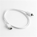 CF-46-010-WE: WHITEFLEX Firewire cable 4-to-6 pin 1m