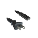 CK-US-18: Power cord for USA + CANADA with 2 pin EURO-8 plug UL 180cm