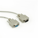 C2-09-20: Serial cable DB9 male to DB9 female, 20m, e.g. for RS232