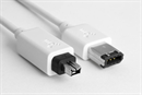 CF-46-020-WE: WHITEFLEX Firewire cable 4-to-6 pin 2m