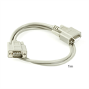 C2-09-01: Serial cable DB9 male to DB9 female, 1m, e.g. for RS232