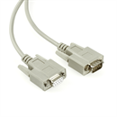 C2-09-02: Serial cable DB9 male to DB9 female, 2m, e.g. for RS232