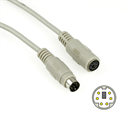 C2-06-15: PS/2 extension cable Mini-DIN-6 male to female 15m