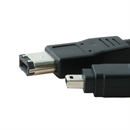 CF-46-006-BK: Firewire 400 cable 4-to-6 60cm BLACK