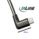35784: Extension cable USB Type-C™ male angled to C female, 3A, 150cm