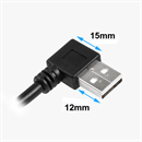 CU-X-05L: USB extension cable AA ANGLED LEFT 50cm