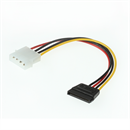C-I-195-CL: SATA power adapter cable 20cm