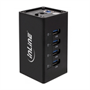 A-USB3-75-I: USB 3.0 HUB with 4 ports metal body