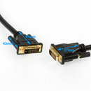 CD-DD-030-BK: DVI cable DVI-D DUAL-LINK 24+1 3m BLACK