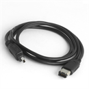 CF-46-010-BK: Firewire 400 cable 4-to-6 1m BLACK