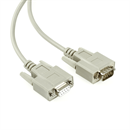 C2-09-07: Serial cable DB9 male to DB9 female, 7m, e.g. for RS232